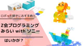 Z会プログラミングソニー